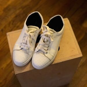 White leather Rebecca Minkoff Sneakers